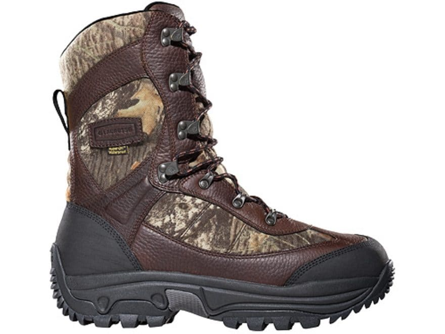 "Lacrosse Hunt Pac Extreme 10"" Hunting Boots Leather/Nylon Men's"