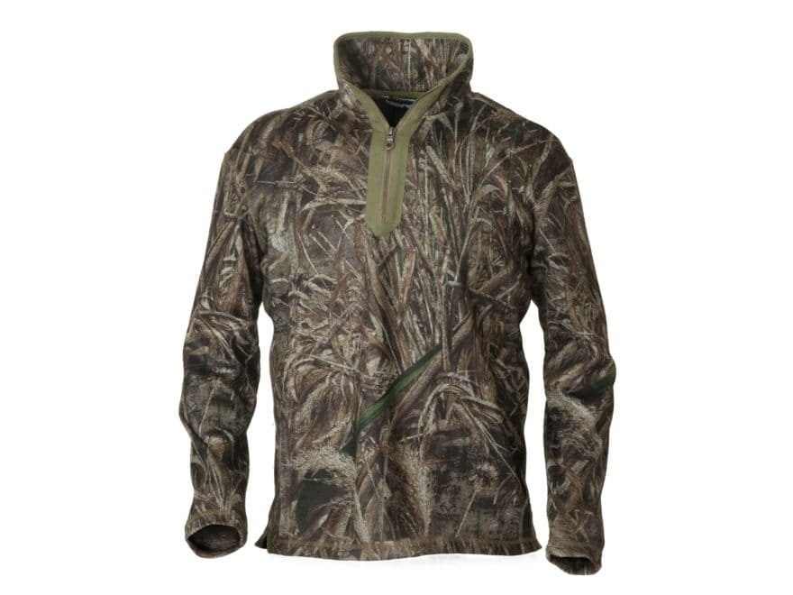 Banded Men's Plumage Windproof Fleece Pullover Polyester