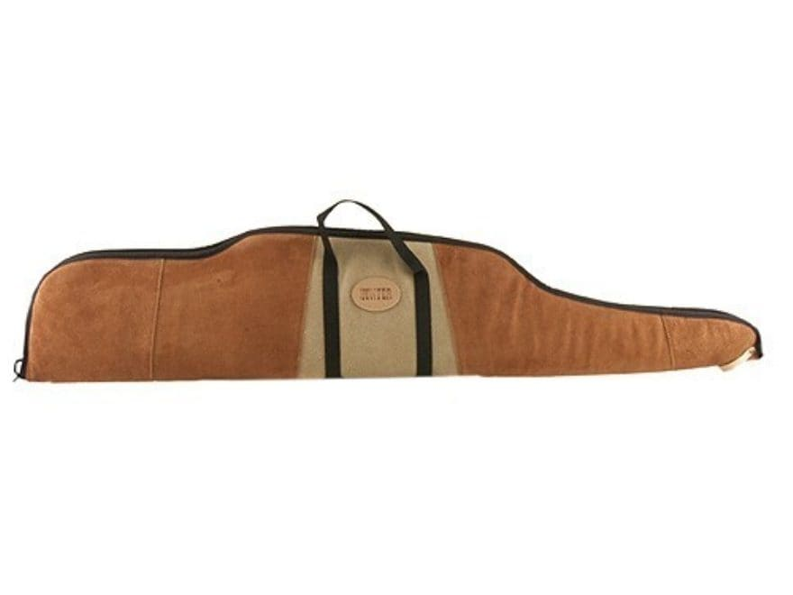 Hunter Scoped Rifle Case Suede-Leather
