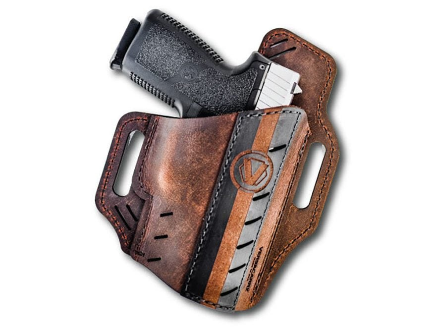 Versacarry Guardian Formula 1 Holster Right Hand Barrel Leather Brown