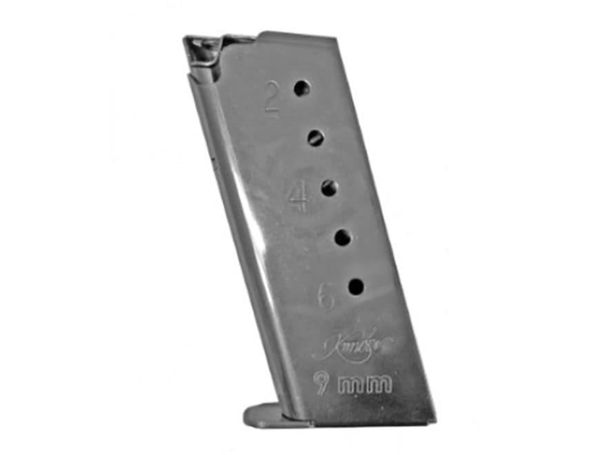 Kimber Magazine Kimber Solo 9mm Luger 6-Round Stainless Steel