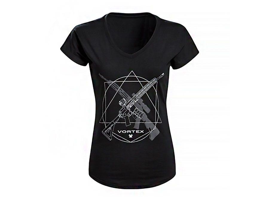 Vortex Optics Women's Black Rifle T-Shirt Short Sleeve Poly/Cotton/Rayon