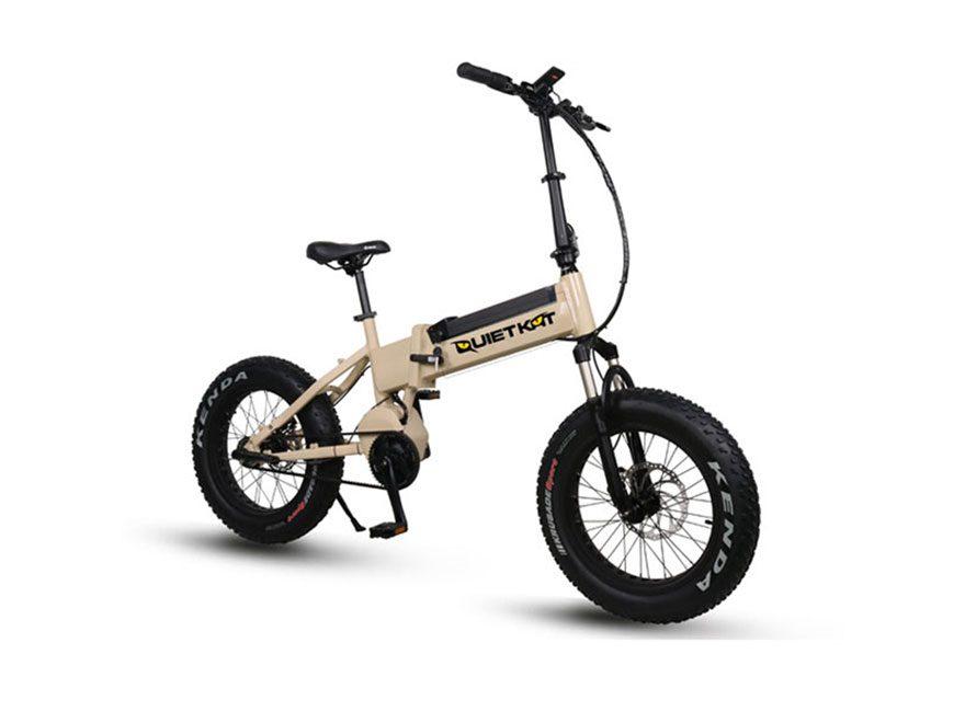 QuietKat Bandit 750W 3-Speed Folding Motorized Bike