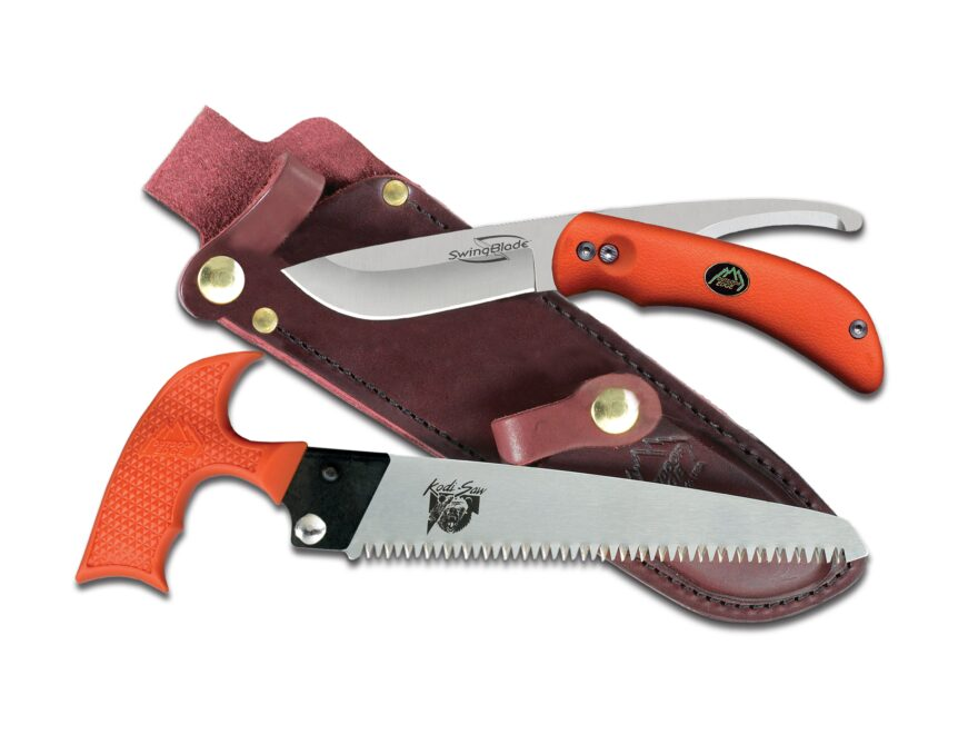 Outdoor Edge SwingBlaze Pak Folding Hunting Knife and Saw