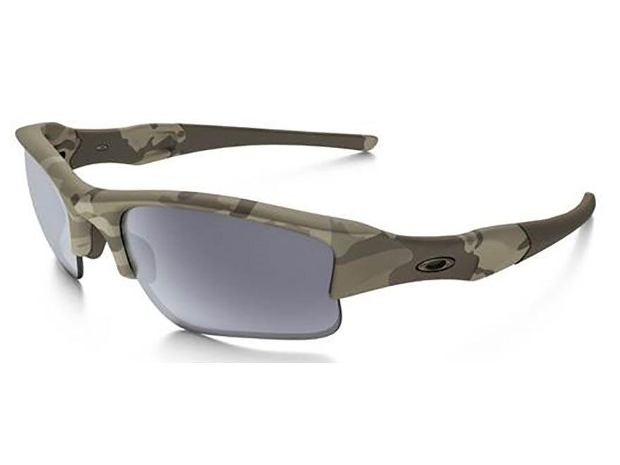 75ce0568deb Oakley Flak Jacket XLJ Sunglasses Multicam Frame Gray Lens. Alternate Image