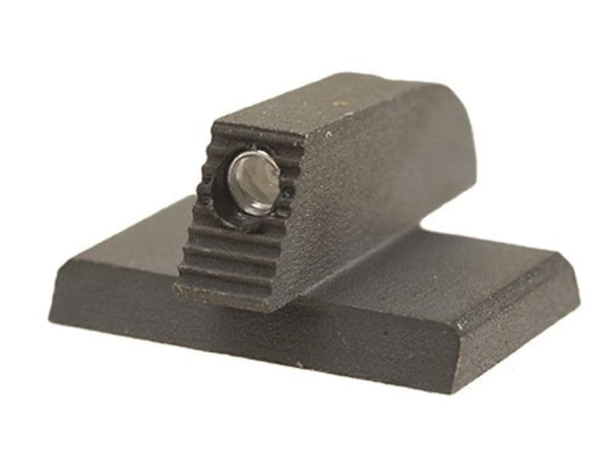 "Kensight Front Night Sight 1911 Novak Cut Flat Base .115"" Width Steel Black with Green ..."