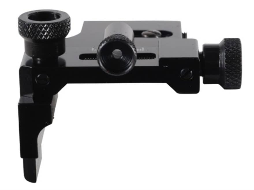 Williams FP-GR Receiver Peep Sight with Target Knobs Air Guns, 22 Rifles with Dovetail ...
