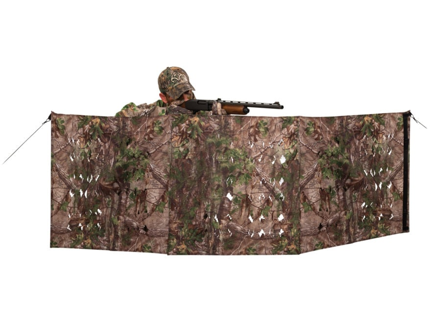 """Ameristep 4-Spur Ground Blind 96"""" x 27"""" Polyester Realtree Xtra Green Camo"""