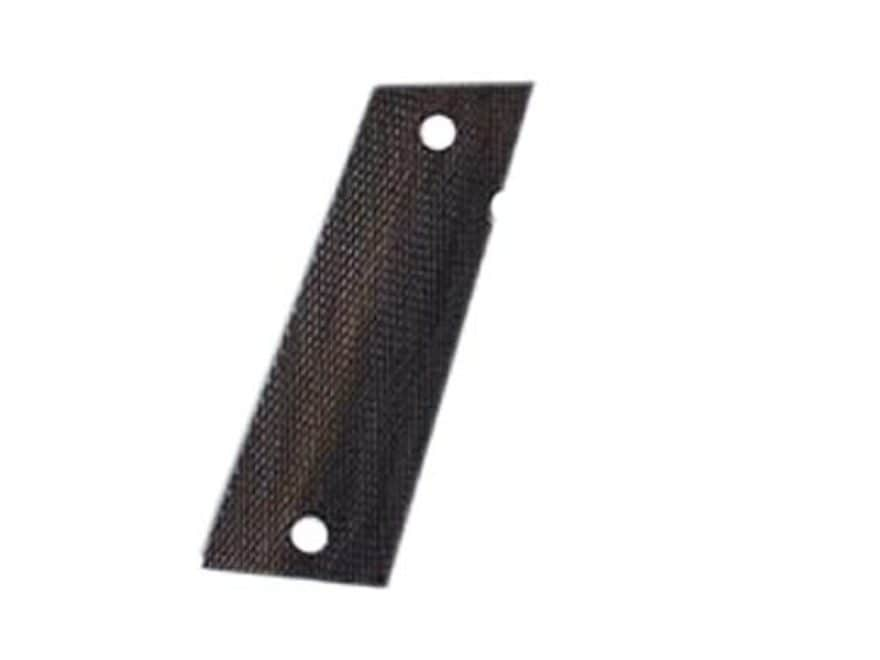 Hogue Fancy Hardwood Grips Caspian Double Stack Checkered Rosewood