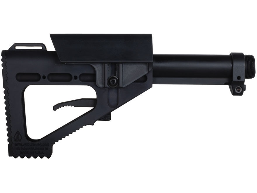 DoubleStar ACE Hammer Stock 7-Position Collapsible AR-15, LR-308 Aluminum Black