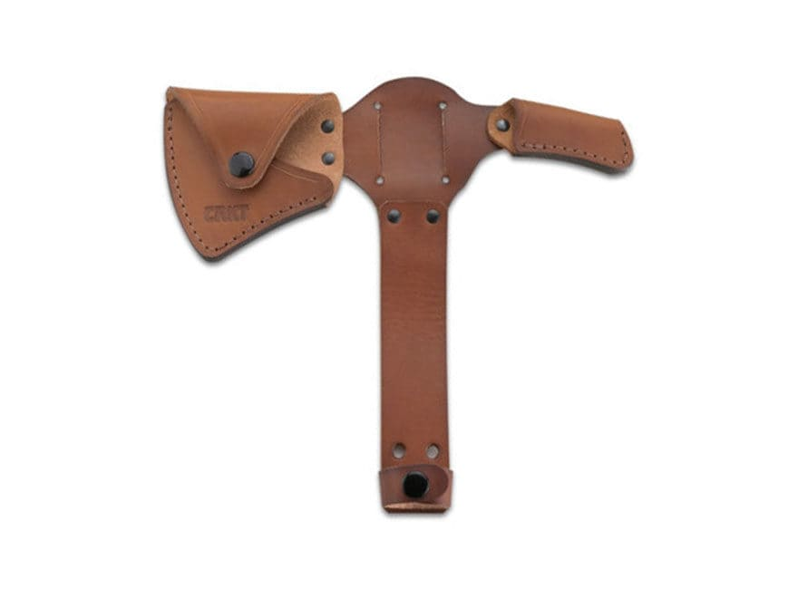 CRKT Leather Sheath for Woods Kangee Tomahawk