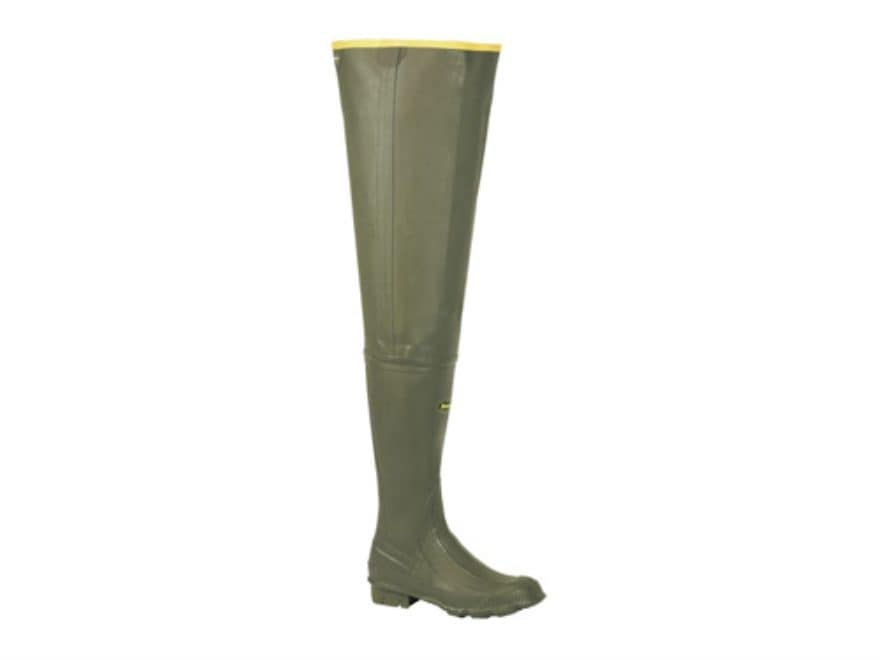 LaCrosse Big Chief Uninsulated Rubber Hip Waders Men's