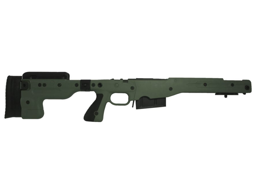 Accuracy International Chassis System AT AICS Stage 2.0 Folding Adjustable Stock 5-Roun...