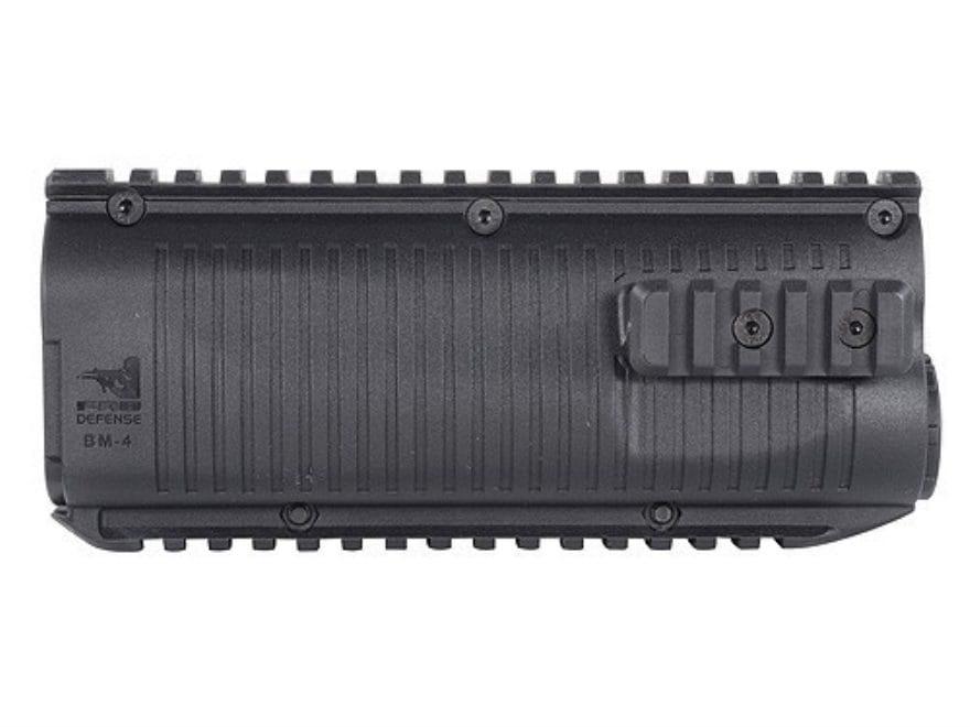 FAB Defense Quad Rail Forend Benelli M4 Polymer Black