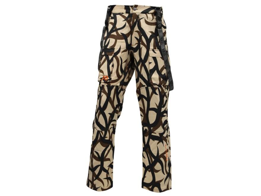fa81a9e2ee5a6 First Lite Men's Kanab 2.0 Pants Merino Wool ASAT Camo Large 34-36
