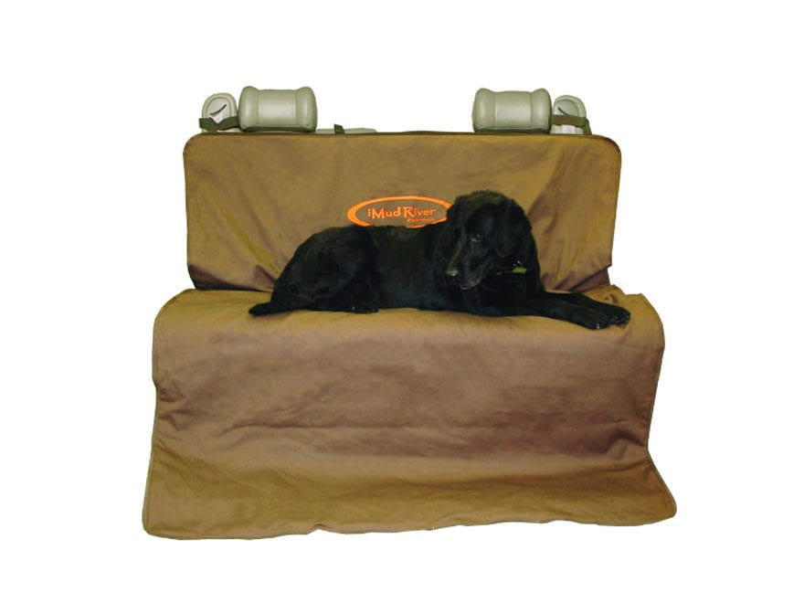 "Mud River 2 Barrel Dog Utility Mat 68"" x 56"" Nylon Brown"