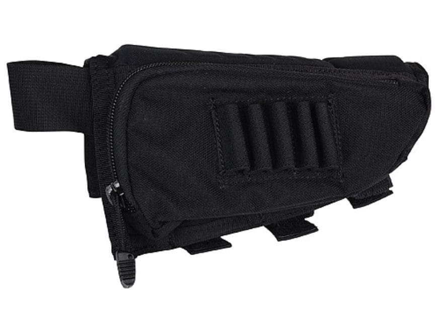 BLACKHAWK! IVS Performance Right Hand Rifle Cheek Rest with Rifle Ammunition Carrier 5-...