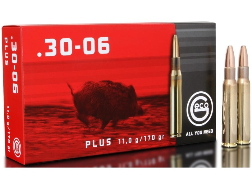Geco Ammunition 30-06 Springfield 170 Grain Bonded Hollow Point Box of 20