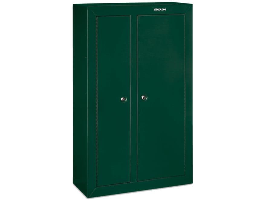 Stack-On Double-Door Steel Security 10-Gun Cabinet Black
