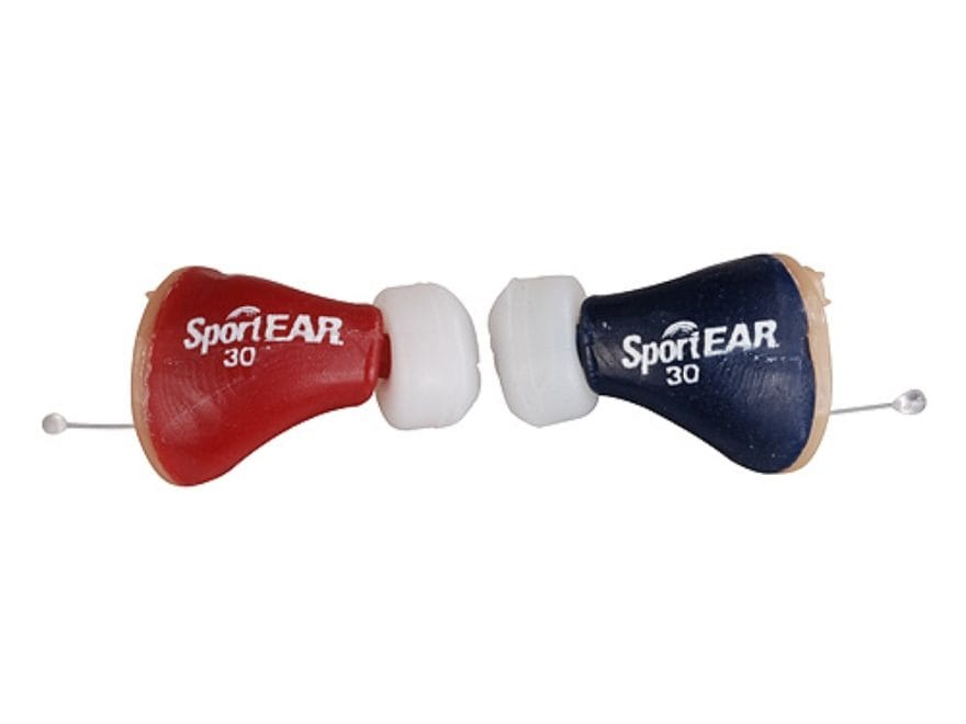 SportEAR Select-A-Fit 30 Electronic Ear Plugs (NRR 22 dB) Tan Pair
