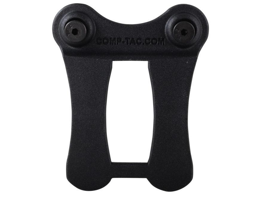 """Comp-Tac Infidel Holster Belt Clip 1-1/2"""" Kydex Black"""