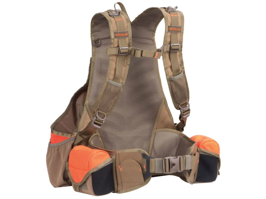 ALPS Outdoorz Upland X Game and Bird Vest Blaze Orange