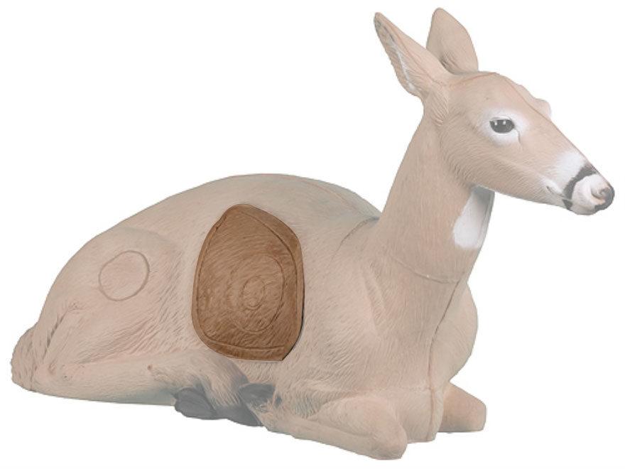 Rinehart Bedded Doe Deer 3D Foam Archery Target Replacement Insert
