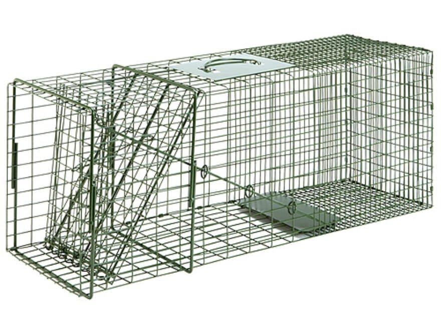 Duke #3 Single Door Cage Trap Steel Green