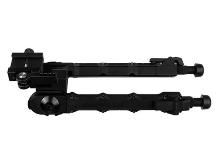 "Accu-Tac SR-5 Small Rifle Bipod 6-1/4"" to 9-3/4"" Aluminum Black"