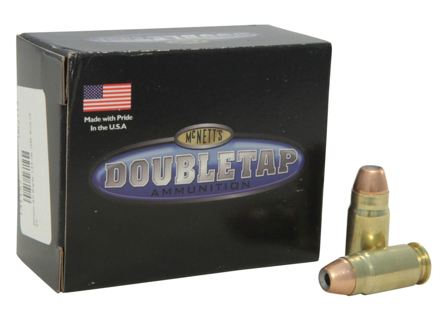 DoubleTap Ammunition 40 Super 135 Grain Controlled Expansion Jacketed Hollow Point Box ...