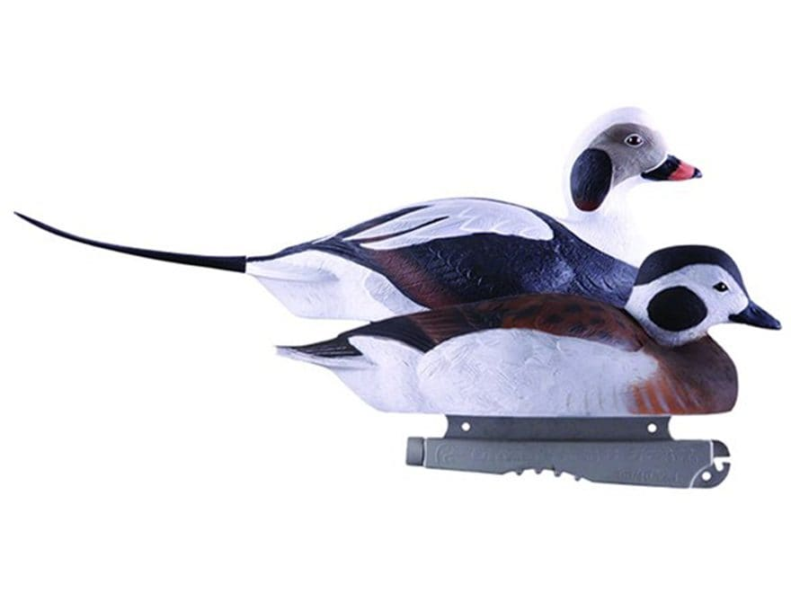 GHG Commercial Grade Foam Filled Long-Tailed Duck Decoy Pack of 6