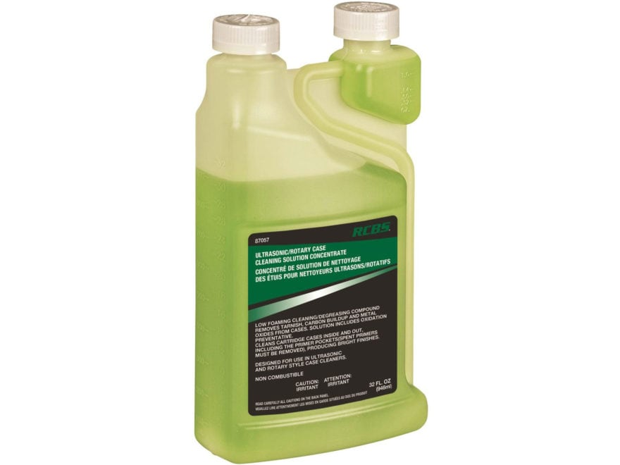 RCBS Ultrasonic/Rotary Case Cleaning Solution Concentrate 32 oz Liquid
