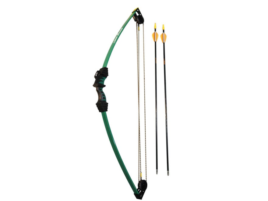 """Bear Archery Scout Youth Compound Bow Package Ambidextrous 8-13 lb 16""""-24"""" Draw Length ..."""