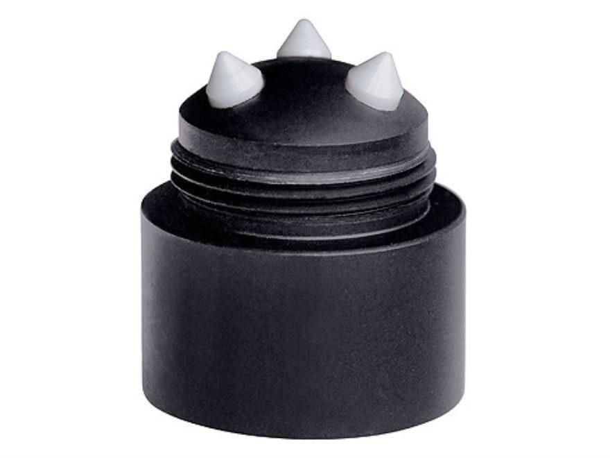 ASP BreakAway Baton Cap Tempered Window Breaker 4140 Steel with Ceramic pins Black