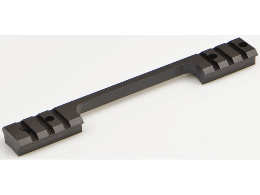 Warne Maxima 1-Piece Steel Weaver-Style Scope Base Weatherby Mark V Standard 6 Lug Matte