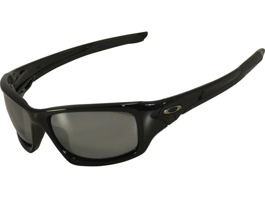 8c1adc15e1a Oakley Valve Polarized Sunglasses Black Frame Black Iridium Lens. Alternate  Image