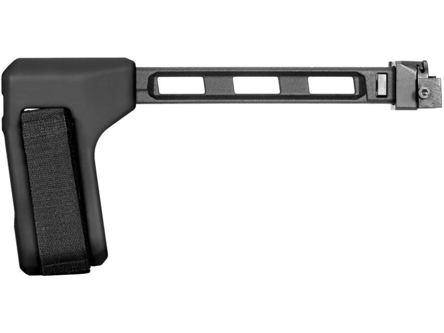 SB Tactical FS1913 Pistol Stabilizing Brace Side Folding Sig MPX, MCX 1913 Rail Black