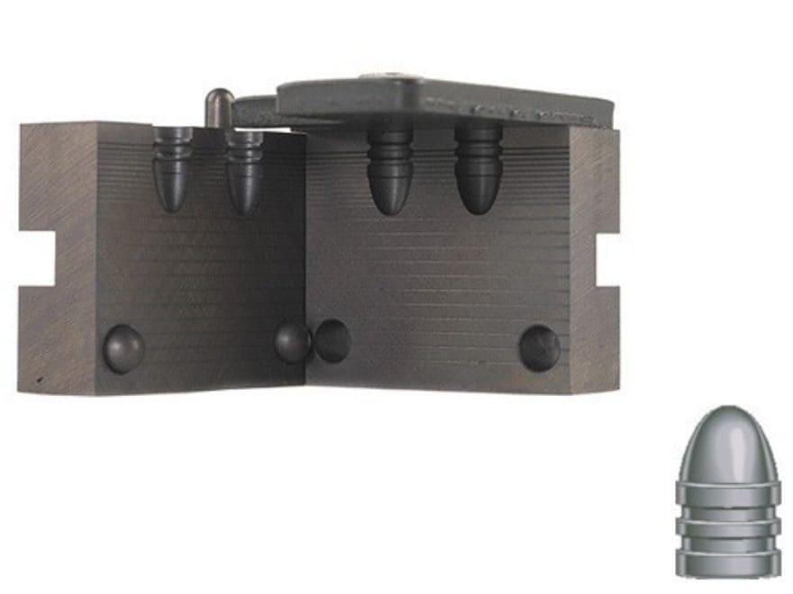 RCBS 2-Cavity Bullet Mold 32-077-RN 32 Caliber (311 Diameter) 77 Grain Round Nose