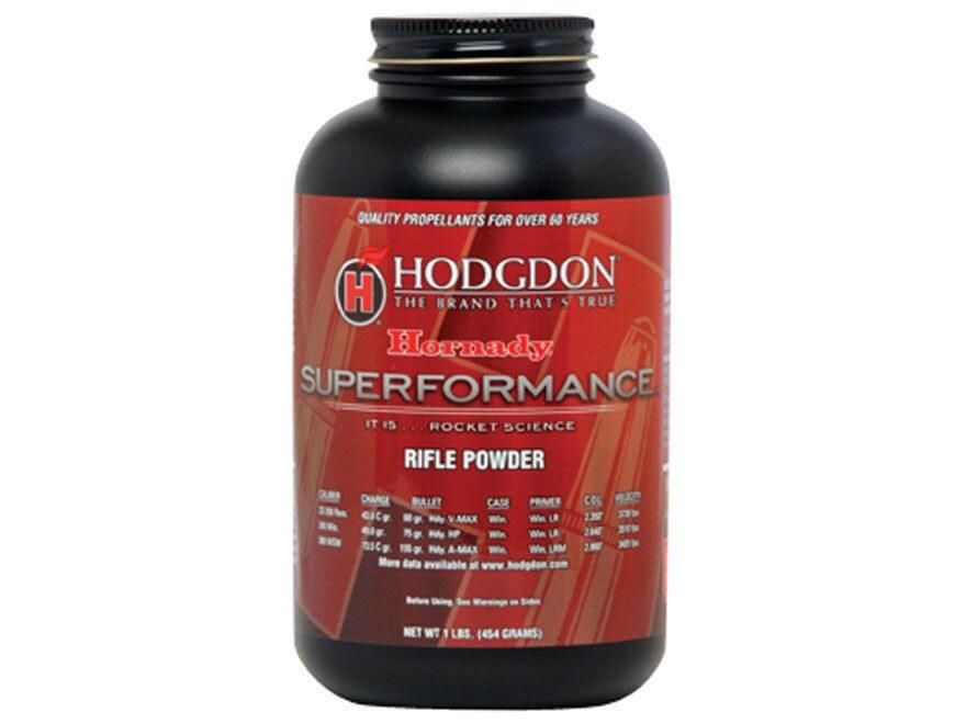 Hodgdon Hornady Superformance Smokeless Gun Powder