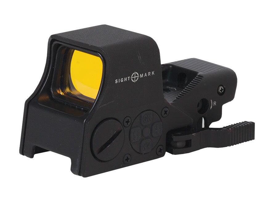 Sightmark Ultra Shot M-Spec Reflex Sight 1x 65 MOA Circle Dot Crosshair (60 MOA circle ...