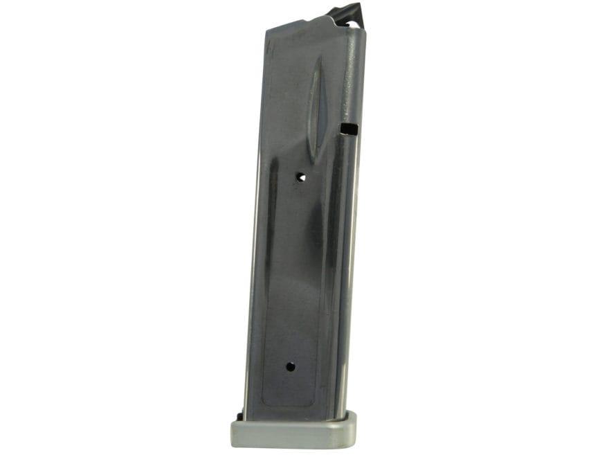 SPS Magazine Pantera, Vista, STI 2011 40 S&W 21-Round 140mm Stainless Steel Aluminum Base