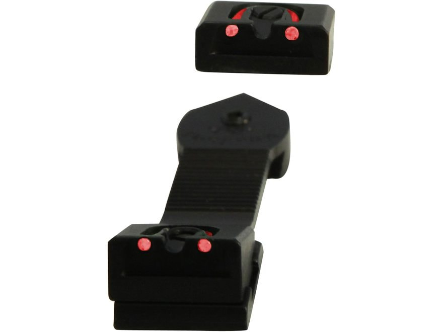 Williams Fire Sight Rear Sight Ruger American 22 Long Rifle, 22 Magnum Aluminum Black F...