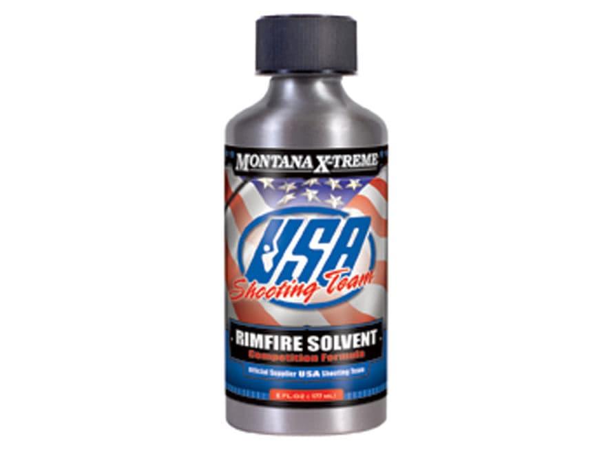 Montana X-Treme USA Shooting Team Rimfire Blend Bore Cleaning Solvent 6 oz Liquid