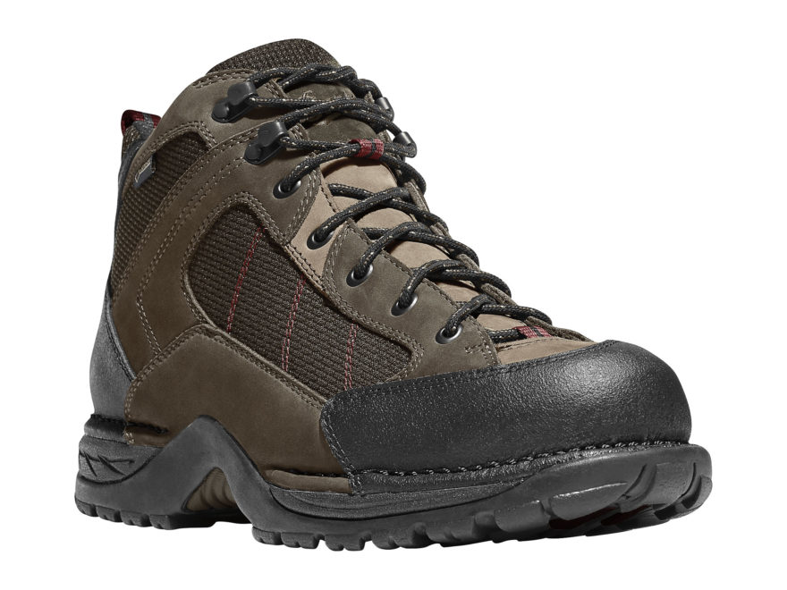 "Danner Radical 452 5.5"" Waterproof GORE-TEX Hiking Boots Leather/Nylon Coffee Men's"