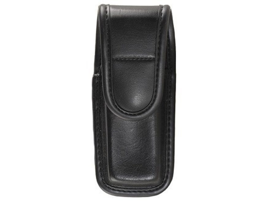 Bianchi 7903 Single Magazine Pouch or Knife Sheath Hidden Snap Trilaminate Black