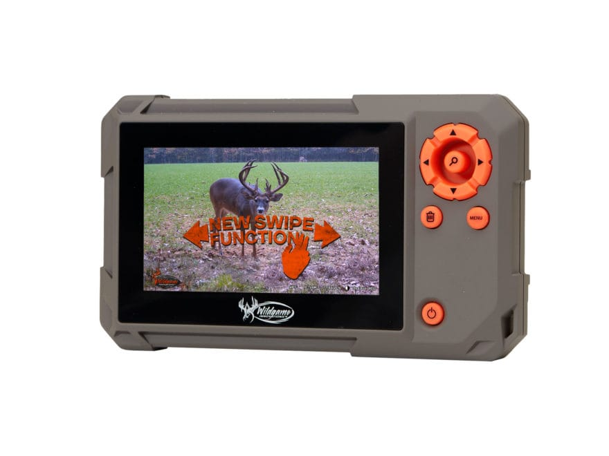 Wildgame Innovations Trail Pad Swipe Game Camera SD Card Reader with Color Viewing Screen
