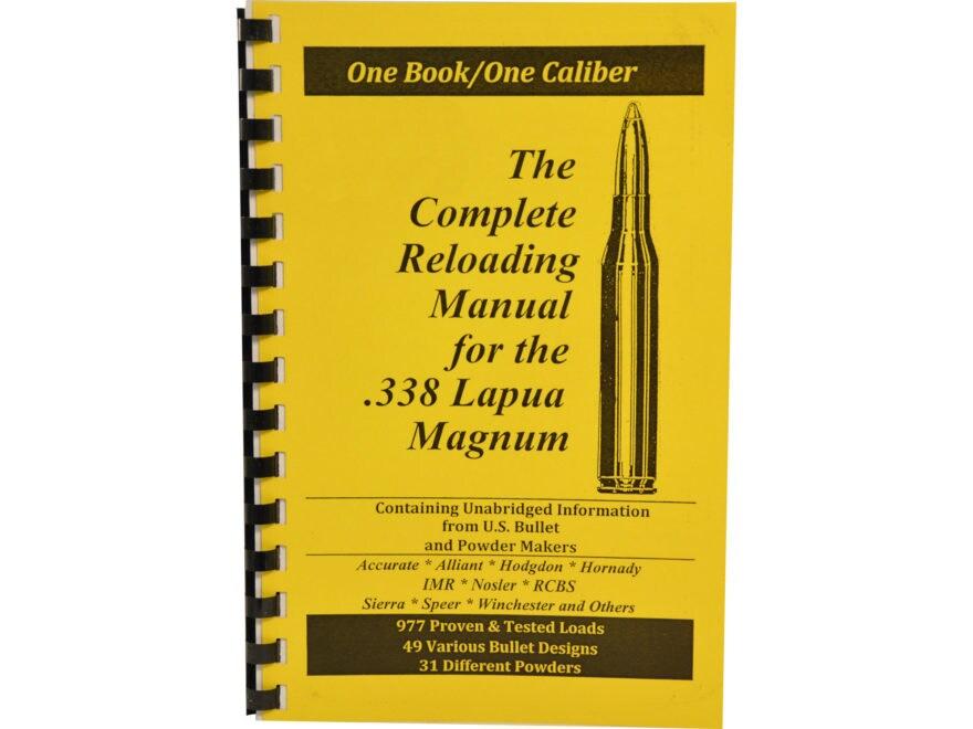 "Loadbooks USA ""338 Lapua Magnum"" Reloading Manual"