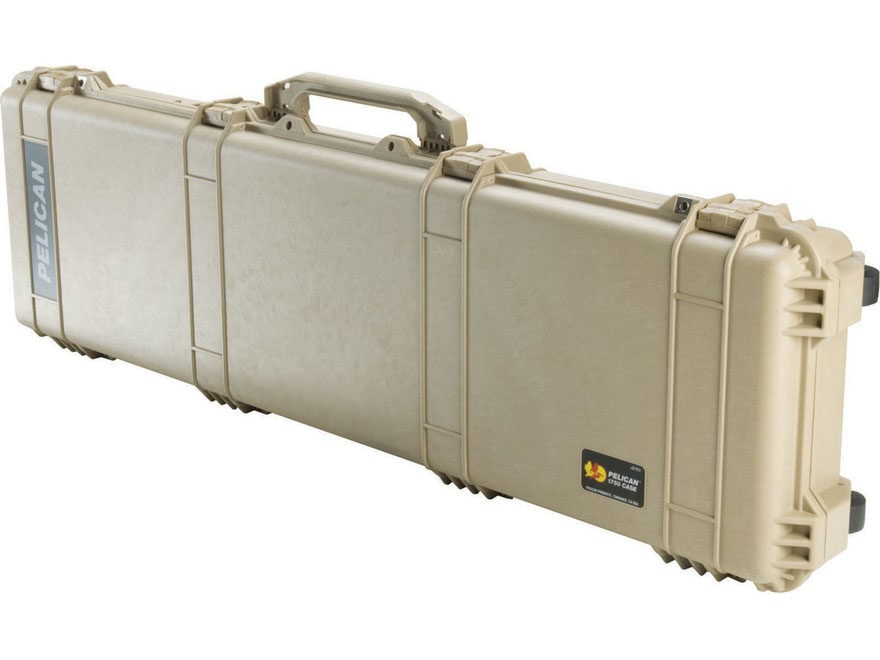 "Pelican 1750 Scoped Rifle Case with Wheels 53"" Polymer"