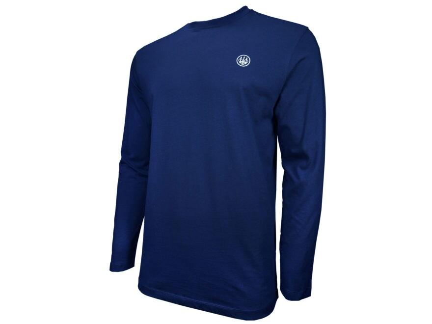 Beretta Men's US Logo T-Shirt Long Sleeve Cotton