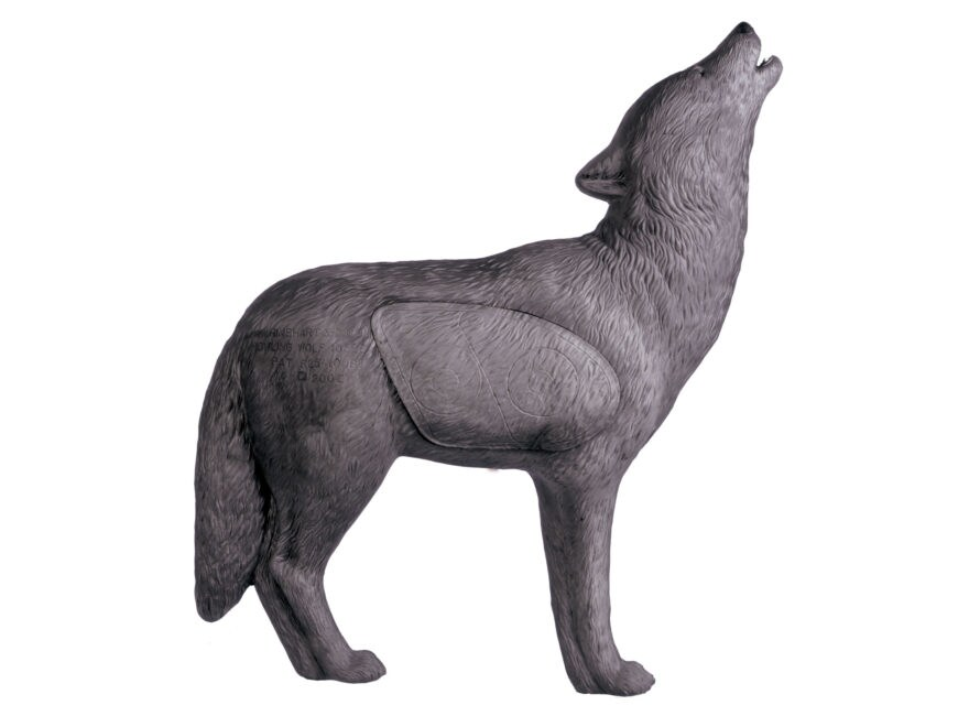 Rinehart Howling Gray Wolf 3D Foam Archery Target